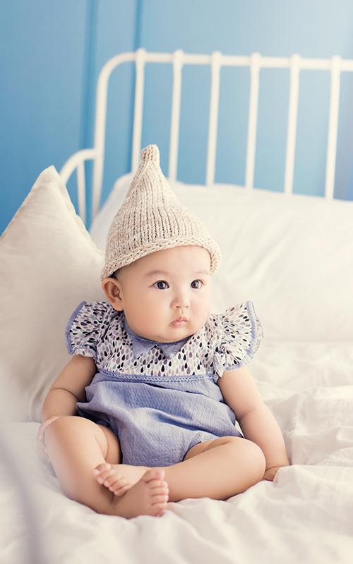 芳妮豆丁儿童摄影 牛奶布丁