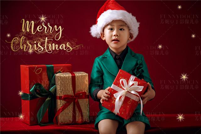 芳妮豆丁拍的圣诞七夕的宝宝照和亲子照真好看!
