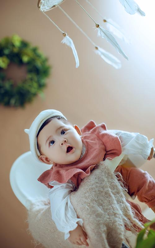 芳妮豆丁儿童摄影 蜜桃宝宝