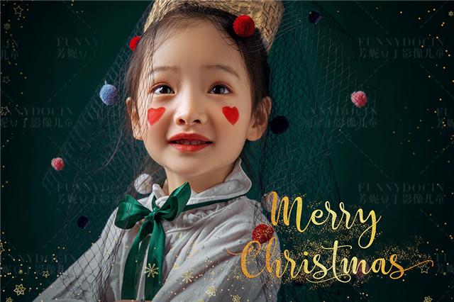 圣诞节,是属于孩子的节日~