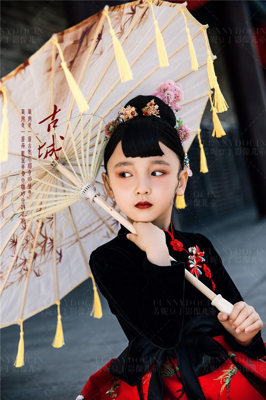 芳妮豆丁儿童摄影 风华绝代