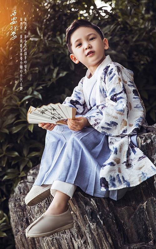 芳妮豆丁儿童摄影 书生侠客