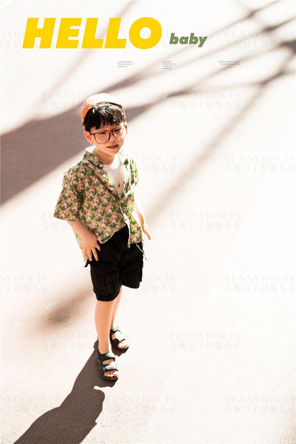 芳妮豆丁儿童摄影 潮酷BOY