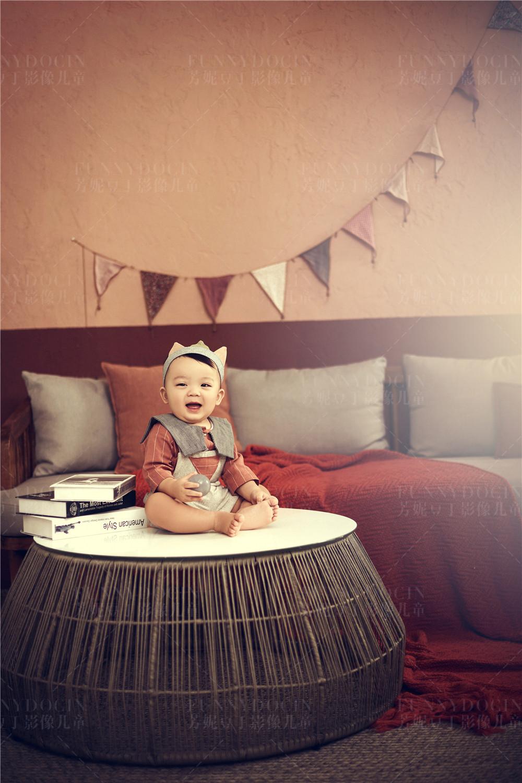 芳妮豆丁儿童摄影 宝宝百天照 |送给宝宝百天的礼物