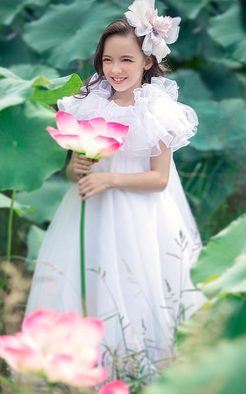 芳妮豆丁儿童摄影 温柔荷约