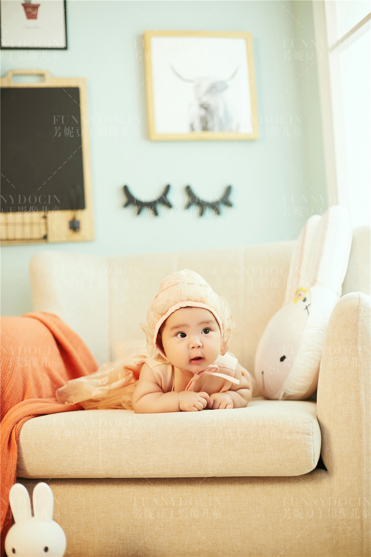 芳妮豆丁儿童摄影 橙味气泡水