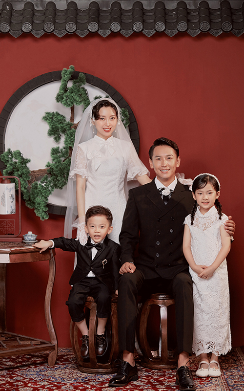 芳妮豆丁儿童摄影 新年全家福怎么拍?复古系列必须安利给你~