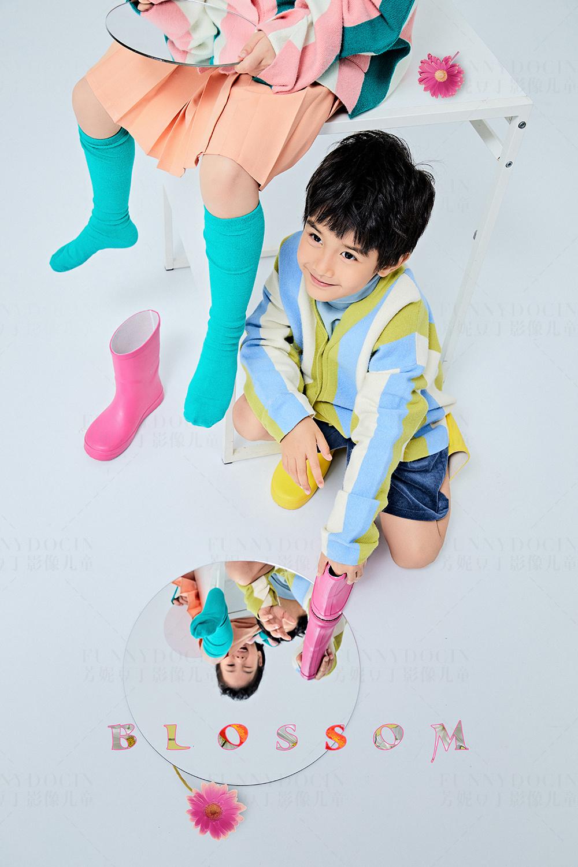 芳妮豆丁儿童摄影 魔镜