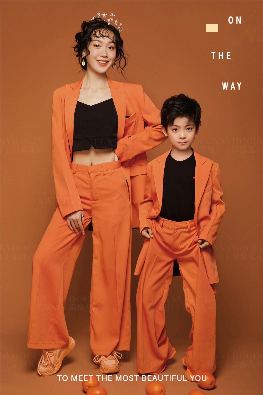 芳妮豆丁儿童摄影 【情人节主题】橙心如意