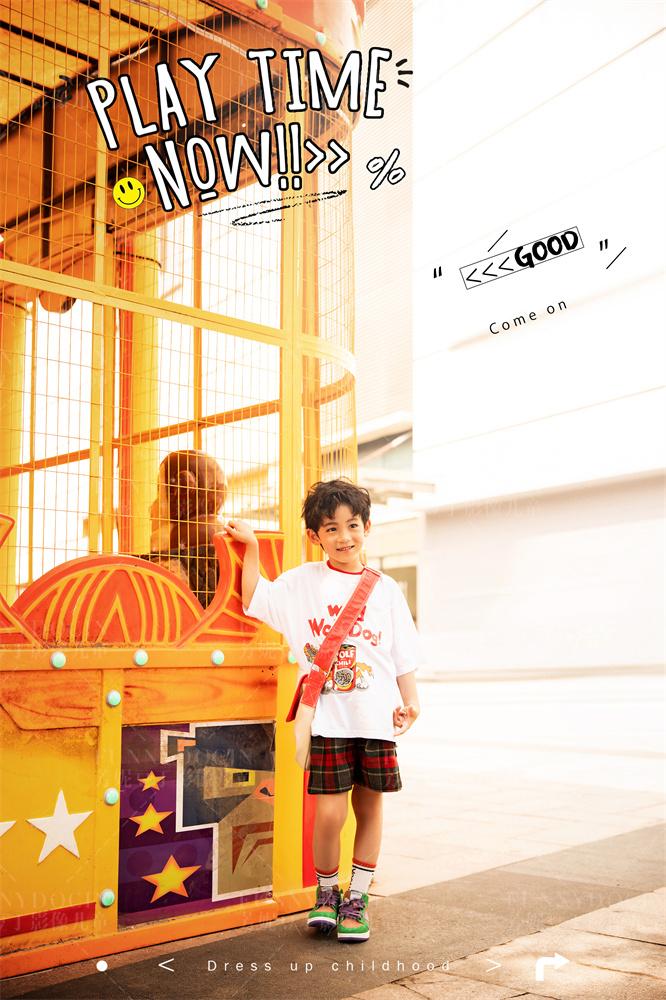 芳妮豆丁儿童摄影 夏日乐园