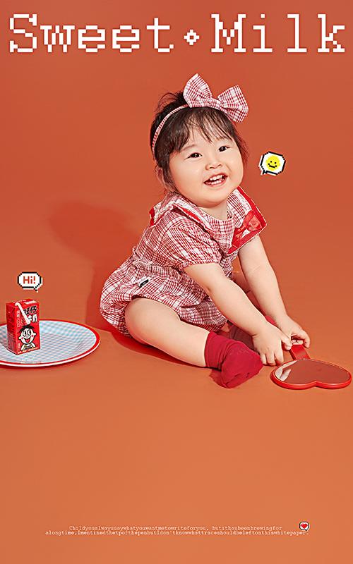 芳妮豆丁儿童摄影 牛奶甜心