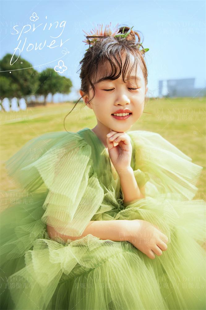 芳妮豆丁儿童摄影 起风了