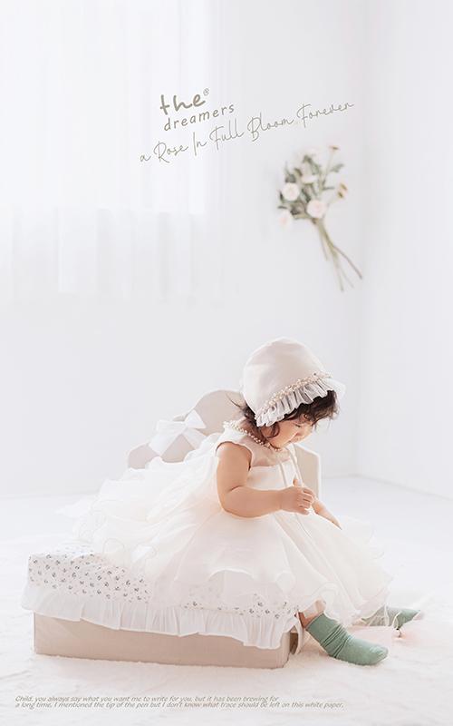 芳妮豆丁儿童摄影 盈盈粉色心
