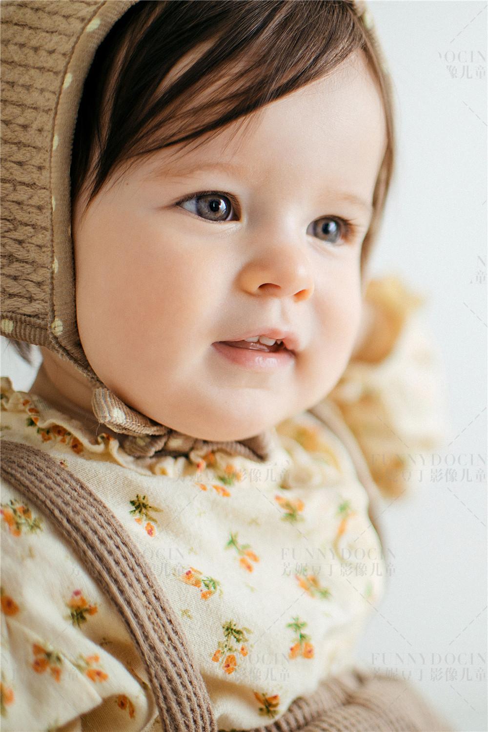 芳妮豆丁儿童摄影 105°的微笑