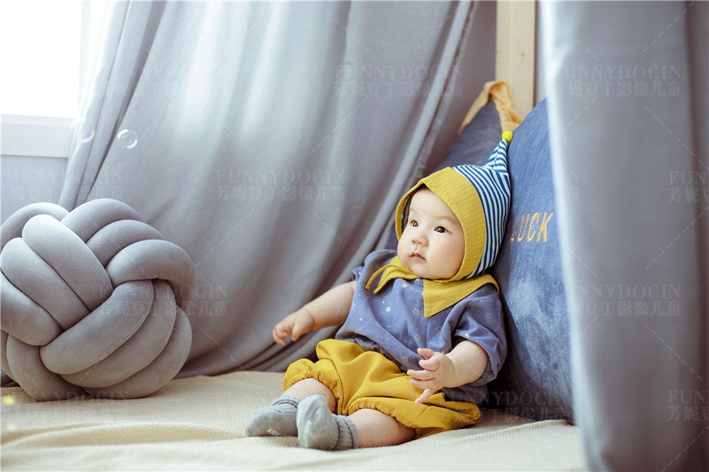 芳妮豆丁儿童摄影 枕着星星睡