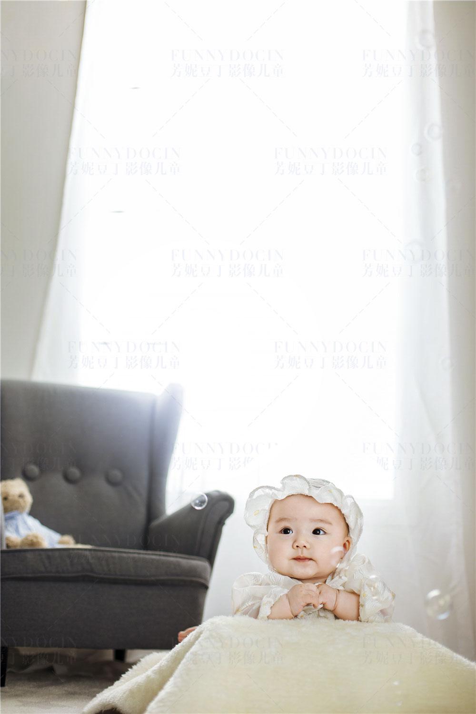 芳妮豆丁儿童摄影 小熊乖乖