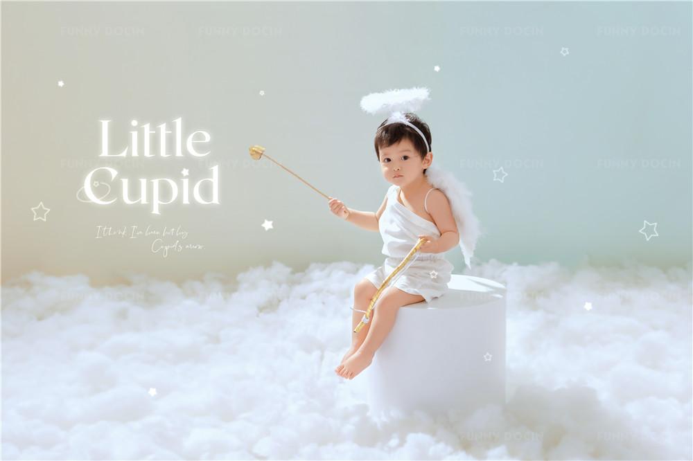 芳妮豆丁儿童摄影 梦幻天使-小小丘比特