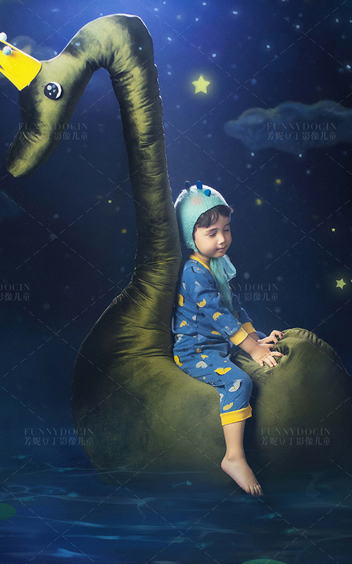 芳妮豆丁儿童摄影 繁星游吟