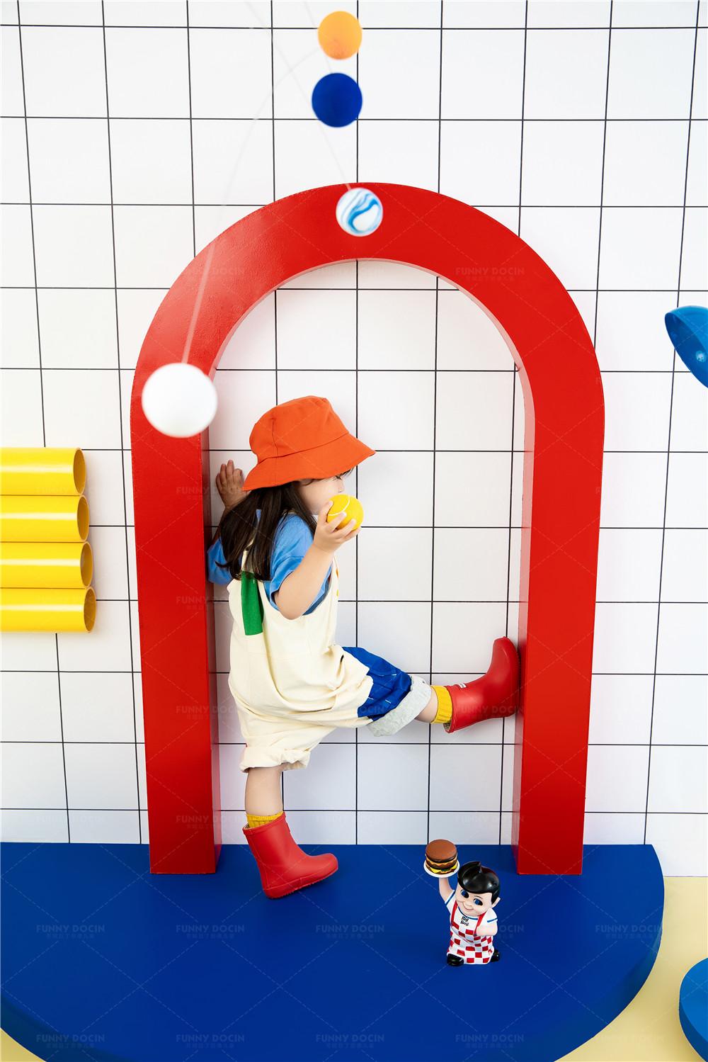 芳妮豆丁儿童摄影 小玩家彩虹屋